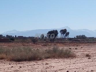terrain de 3500 m2 chrifia km 8 marrakech