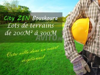 lots de terrains à bouskoura à partir de 200 m2