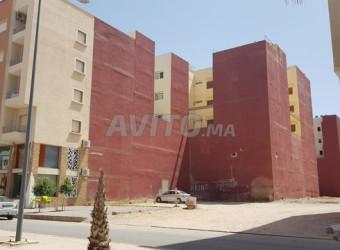 terrain pour immeuble 240m2bd el aqssa
