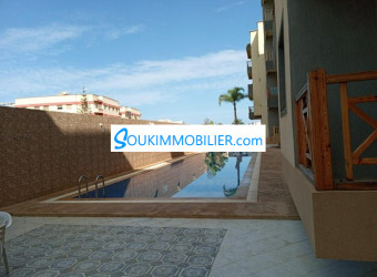 grand appartement a el jadida avec piscine