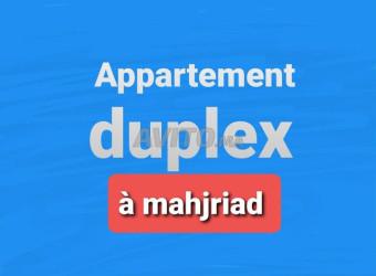 appartement duplex à mahjriad