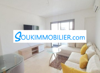 Immobilier Maroc : appartement 67 m2 meublé neuf luxe a val fleuri
