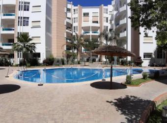 Immobilier Maroc : appart meublée à résidence nouaceur 700