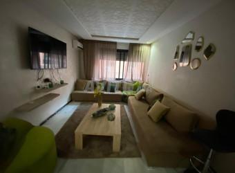 appartement 2 chambres meuble guéliz