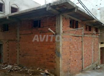 منزل في طور البناء