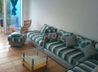 duplex meublé à louer sur skhirat