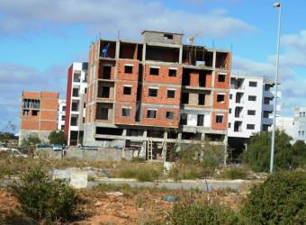 terrain immeuble 170 m² dar bouazza
