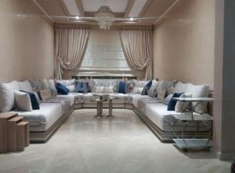 bel appart meublé à résidence perle de nouaceur