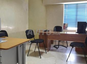 bureau en location à casablanca
