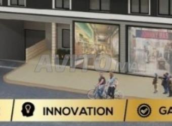vente local commercial 168m plus 85 sp à bouskoura