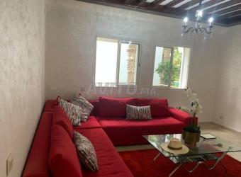 triplex meuble en location a harhoura