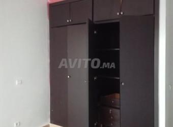 Appartement de 90 m2 Wifak temara avec garage asce