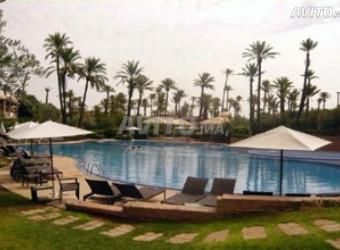 appart meublé rdc jardin piscine palmeraie