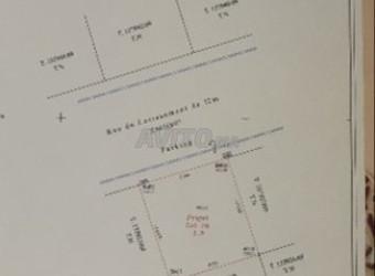 أرض للبيع بتجزئة المنارة طريق مكناس109m2 dh4800