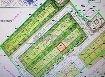 terrain de villa 205 m2 à azemmour