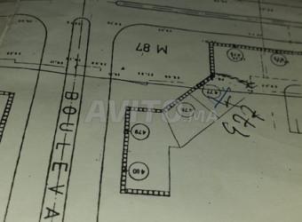 terrain de 144 m2 hay al wahda mohammedia