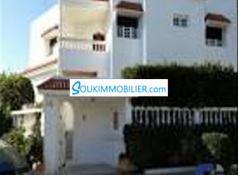 belle villa 500 m2 mabnia fiha 200 m2 à mohammadia