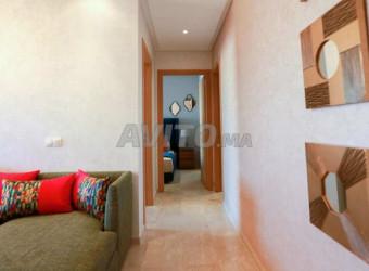 appartement moderne neuf vue boulevard/errahma