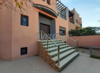 villa 3 niveaux sur une résidence gardée à targa