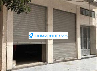 local commercial en face rue principale nador
