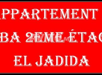 appartement à hiba 2eme étage el jadida