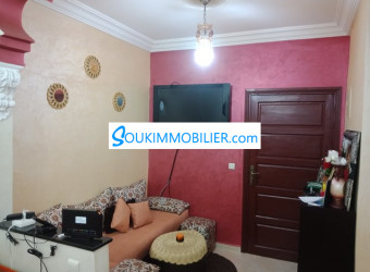 appartement 65m Riad Oulfa