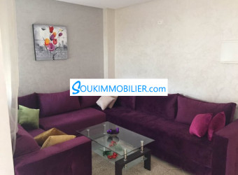 appartement en location meublée