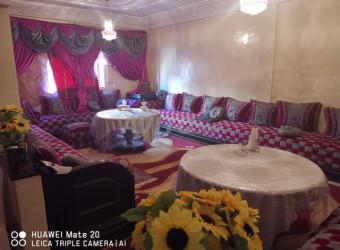 شقة رائعة مفروشة للبيع قريبة من مطار محمد الخامس