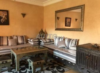 Immobilier Maroc : appartement équipé 2 chs