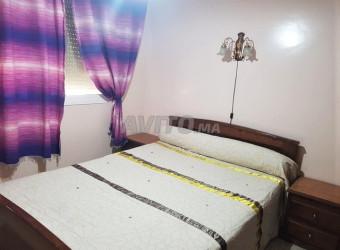 appart meublé 80m2 à bourgogne prés clinique badr