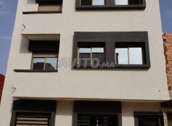appartement de 90 m2 au lotissement mehdia kenitra