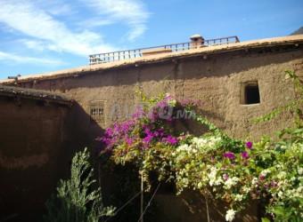 maison traditionnelle berbère en pizé
