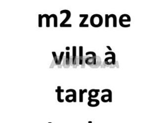 terrain 993 m2 zone villa à targa jaouhar