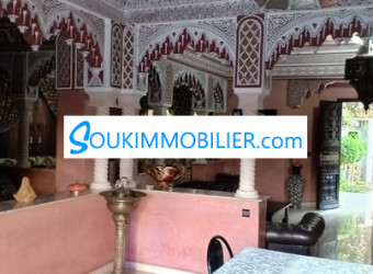 maison 400 m2 à marrakech bab ighli