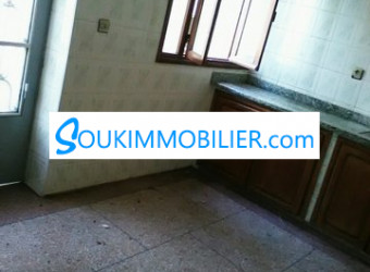Immobilier Maroc : appartement familial 2 façades au centre tanger