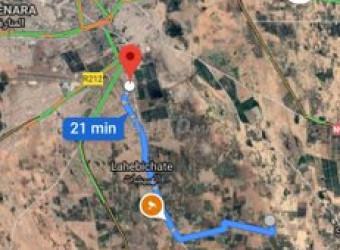 Terrain 1500 m2 Marrakech Je met en vente un terra